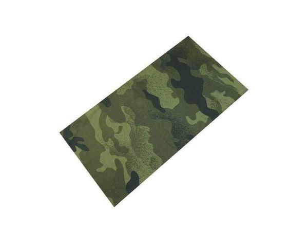 TWOEIGHTFIVE multifunkční šátek na krk Camouflage green - zelený ... 6817f94e31