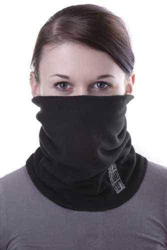 Multifunkční fleecový šátek nejen na motorku
