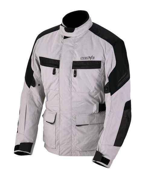 NERVE Blaze bílá cestovní bunda na motorku