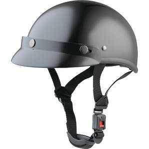 Braincap černá helma na chopper, přilba na motorku