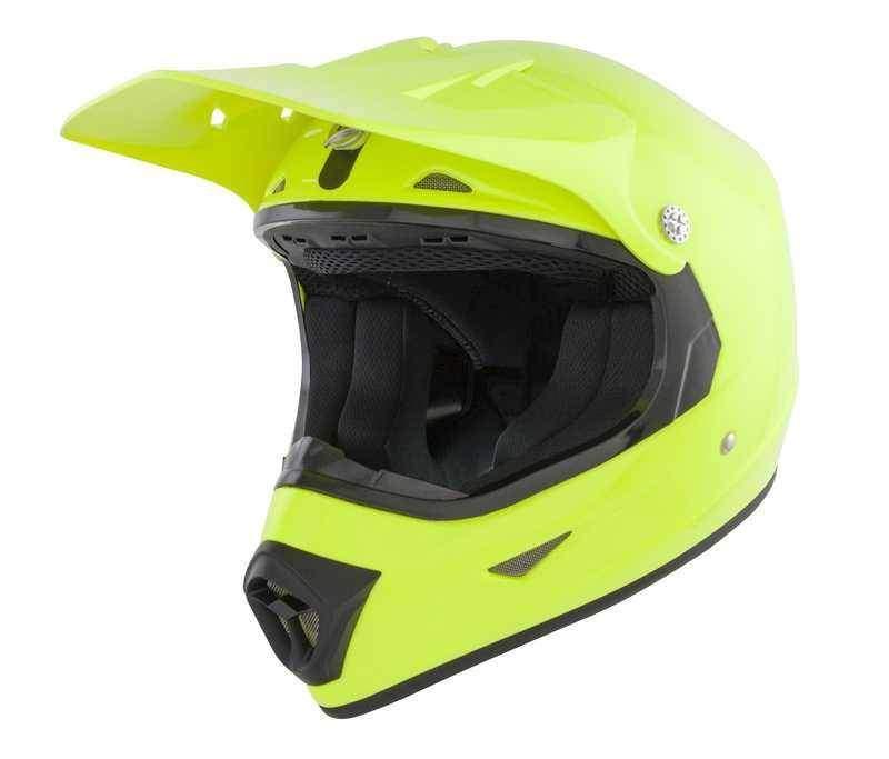 GSB XP-7 dětská žlutá krosová helma, přilba na motorku