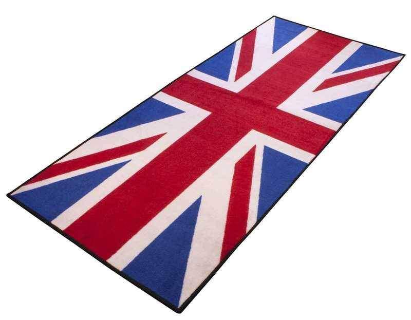 Koberec Union Jack Britská vlajka pro motorku