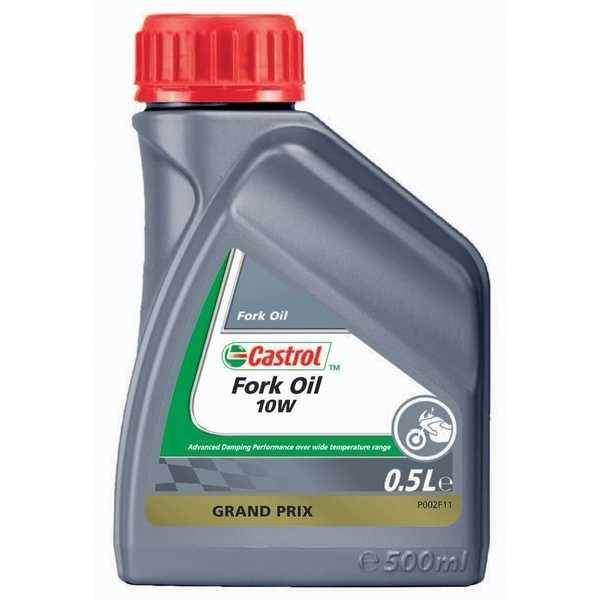 Castrol Fork Oil 10W 500 ml, minerální olej pro teleskopické vidlice