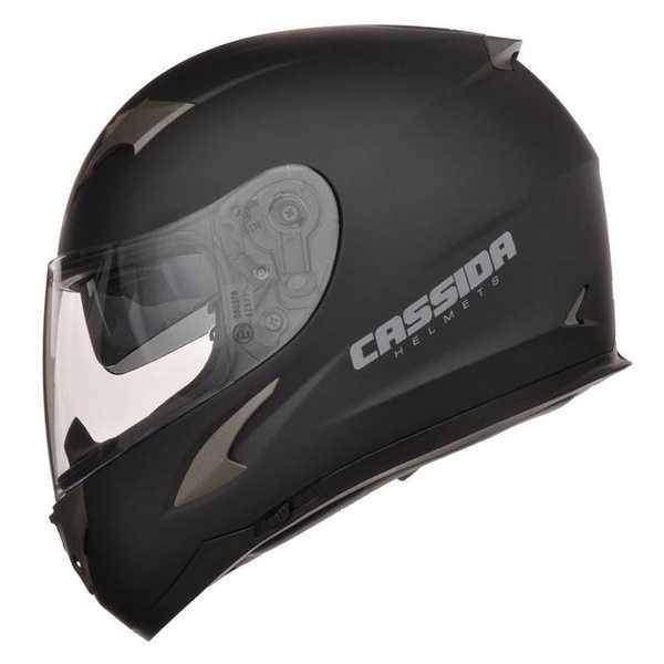 Cassida 2.0 integrální černá matná helma na motorku