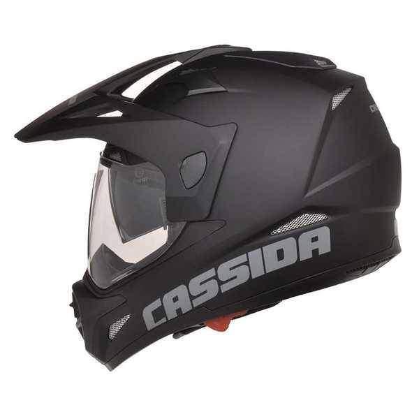 Cassida Tour enduro černá matná helma na motorku