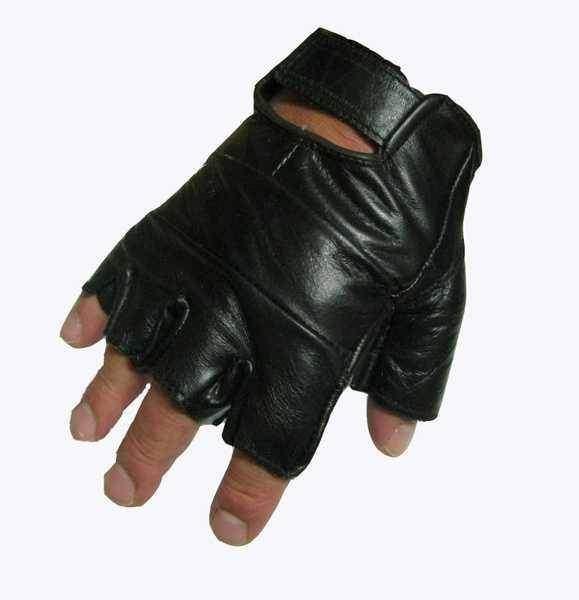 Vyprodáno - Chopper II kožené rukavice bez prstů hladké bezprs ťáky ... 289a9371e7