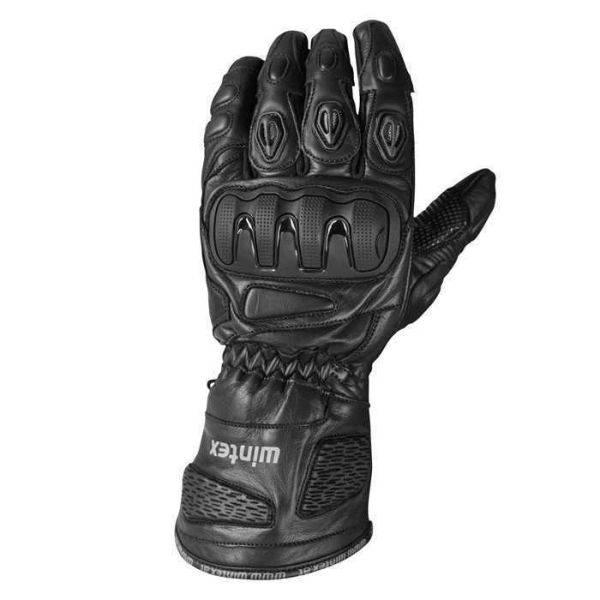 Wintex Wintex SBK kožené černé sportovní rukavice M