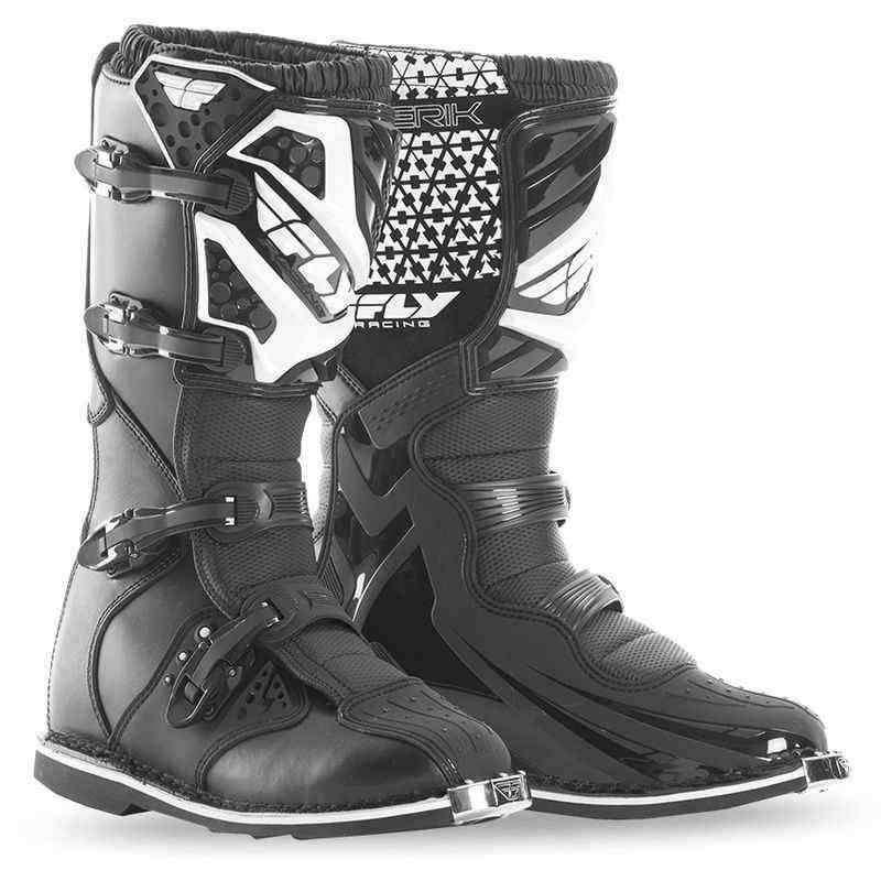 Fly Racing Maverik černé krosové boty na motorku