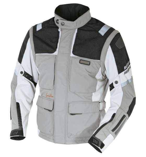 NERVE G-Drive světlá textilní cestovní bunda na motorku