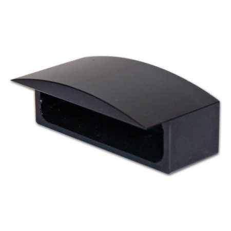 černé hliníkové pouzdro na LED osvětlení SPZ