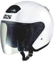 IXS HX 118 bílá otevřená jet přilba na motorku a skůtr 3454f9e092a