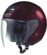 IXS HX 118 bordo otevřená jet přilba na motorku a skůtr