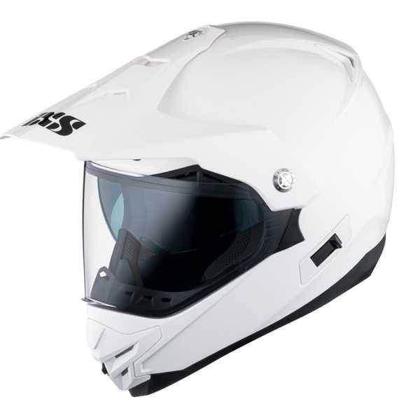 IXS HX 207 bílá enduro přilba, helma na motorku