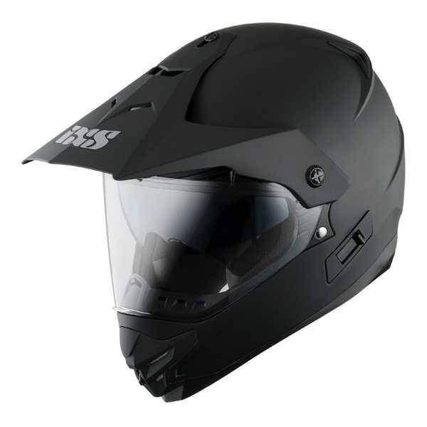 IXS HX 207 černá matná enduro přilba, helma na motorku