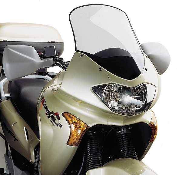 Kappa KD209S přední plexi zatmavené Honda Transalp 2000-2007 pro