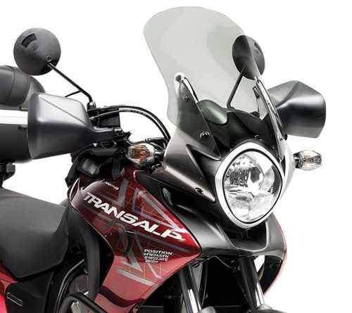 Kappa KD313S přední plexi zatmavené Honda XL 700 V Transalp 2008-2013