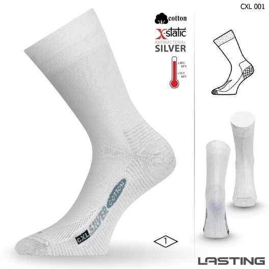 0469ef812e5 Lasting ponožky CXL 001 se stříbrem
