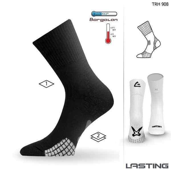 494e6f32229 Lasting ponožky TRH 908 Coolmax hladké vyšší