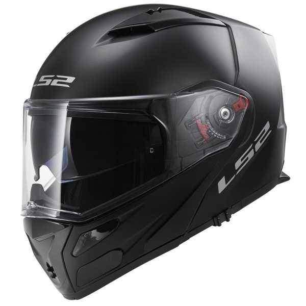 LS2 FF324 METRO černá matná výklopná helma na motorku