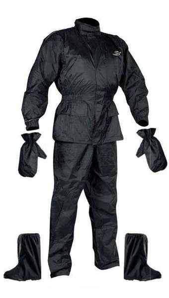 933d0f9c0dd Set - nepromokavá bunda + kalhoty + rukavice + návleky na boty - nepromokavé  oblečení na motorku - nepromokavé oblečení na motorku