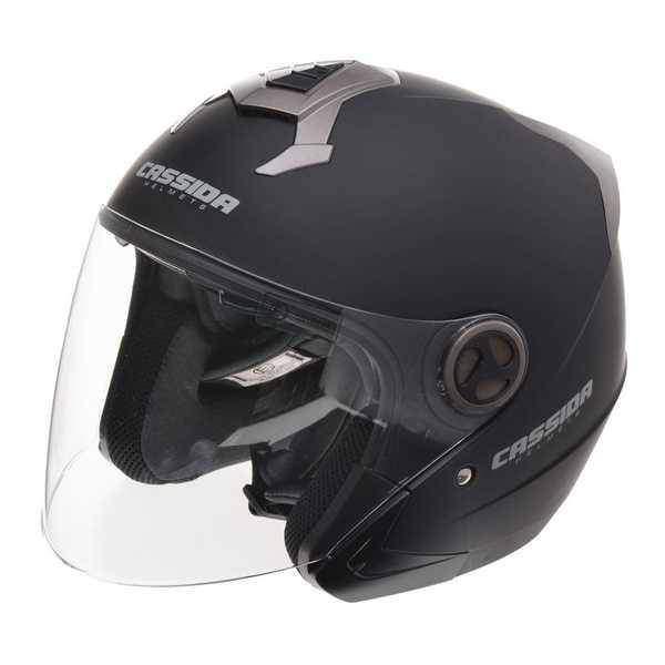 Cassida Magnum JET otevřená helma na motorku, černá matná