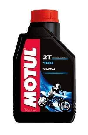 Motul 100 2T, 1L, minerální olej
