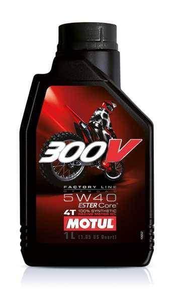 MOTUL 300V 5W40 Factory Line OFFROAD 1 litr, olej pro motorky