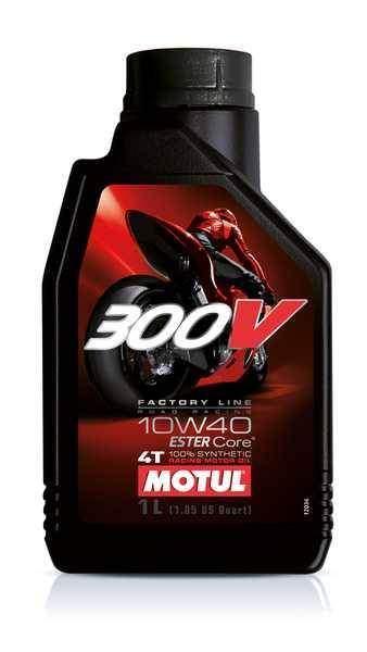 MOTUL 300V 4T 10W40 Factory Line Road Racing 1 litr, olej pro motorky