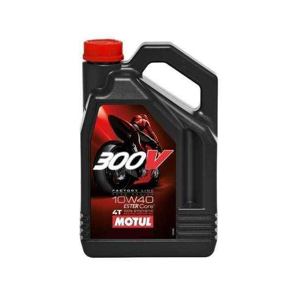 MOTUL 300V 4T 10W40 Factory Line Road Racing 4 litry, olej pro motorky