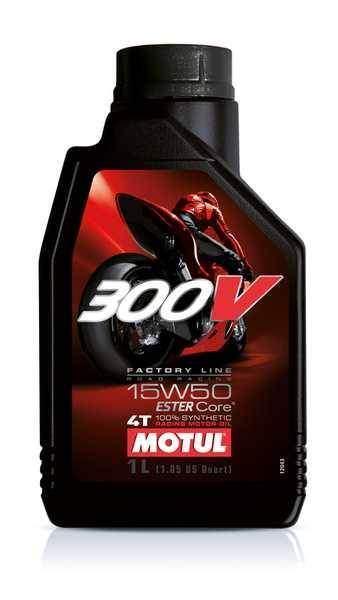 MOTUL 300V 4T 15W50 Factory Line 1 litr, olej pro motorky