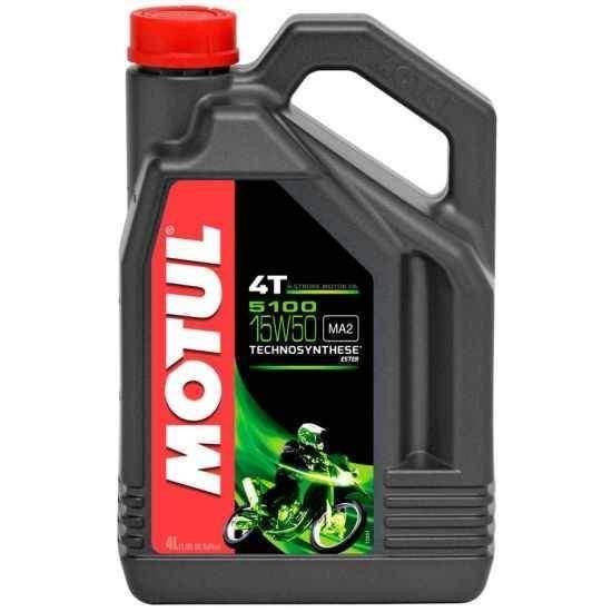 MOTUL 5100 ESTER 4T 15W50 4 litry, olej pro motorky