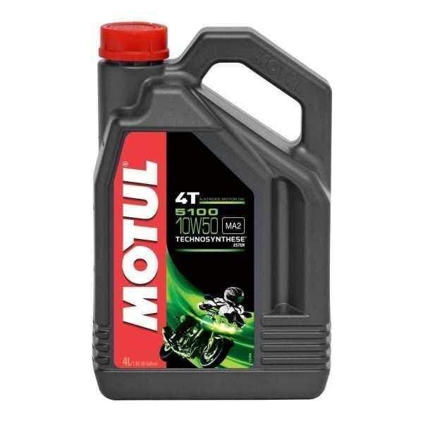 MOTUL 5100 ESTER 4T 10W50 4 litry, olej pro motorky