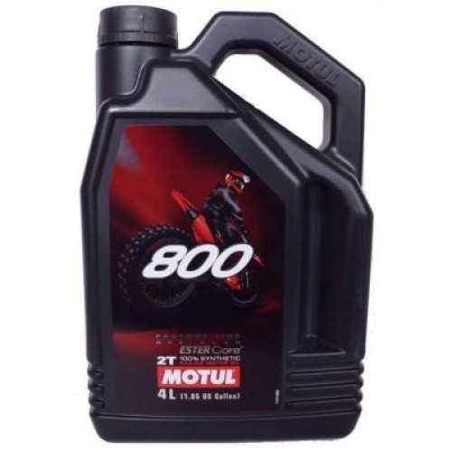 Motul 800 2T Factory Line OFFROAD 4 litry olej pro dvoutaktní motorky