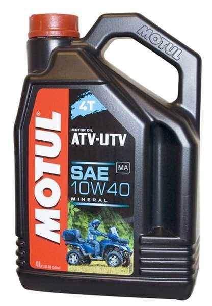 Motul ATV UTV 10W40 4 litry minerální olej pro čtyřkolky