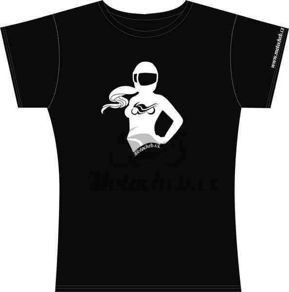 Dámské tričko Motorkářka 2c7f71056a