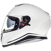 c99ada77129 MT Thunder 3 SV bílá lesklá integrální helma na motorku