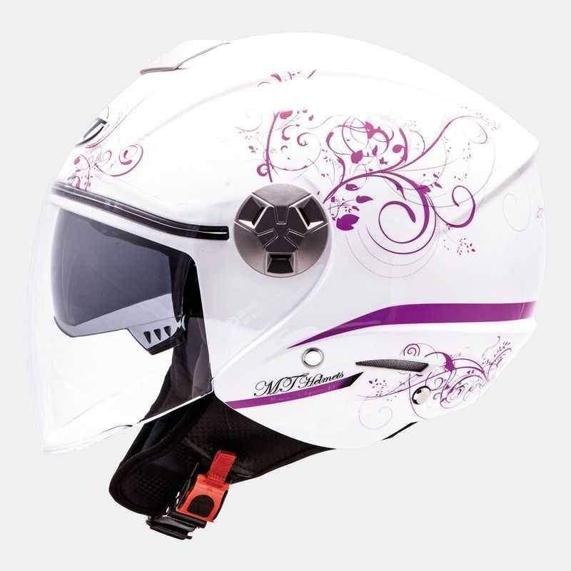 MT City Eleven Bella dámská otevřená helma na motorku