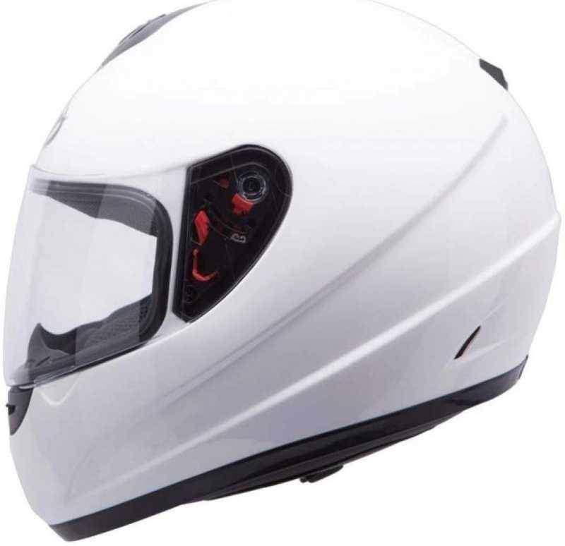 MT Thunder Solid Kids dětská integrální bílá helma na motorku