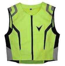 Nerve Season - žlutá reflexní vesta neonová na motorku