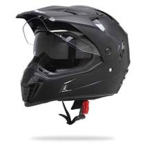 341afa19355 Nox N311 černá matná enduro přilba na motorku se sluneční clonou