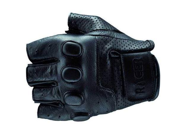 RACER BUBBLE kožené rukavice na motorku bez prstů bce09c311f