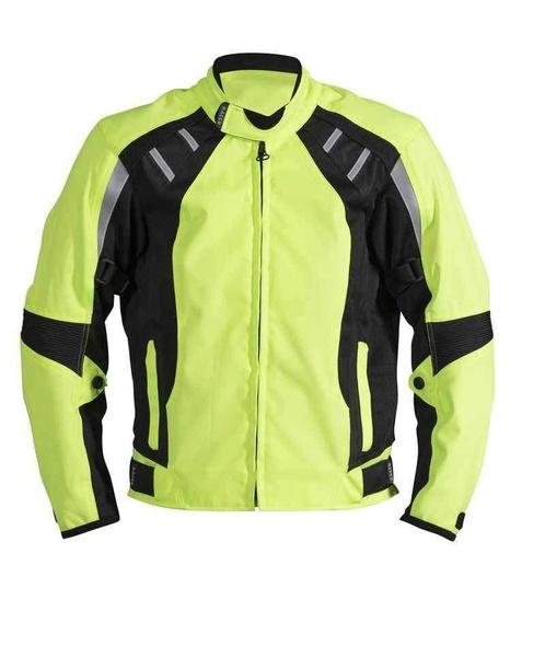 Racer COOL2 Neon letní krátká textilní bunda na motorku e522792b0b