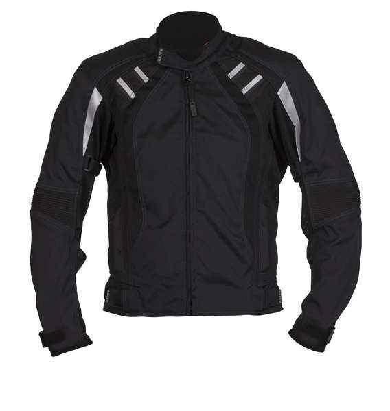 Racer COOL2 Black letní krátká textilní bunda na motorku f421c3cc0e