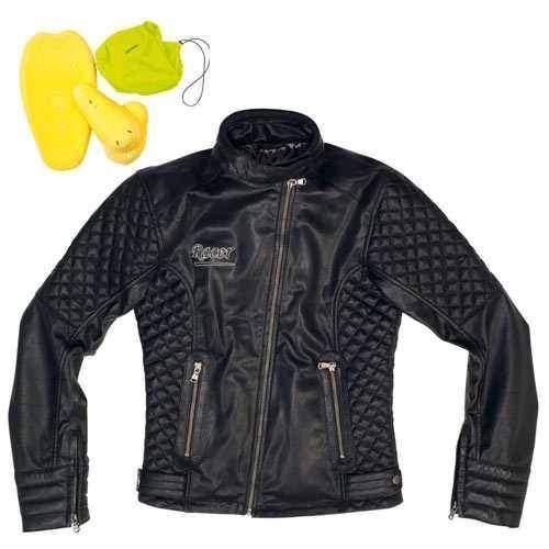 Racer Riva dámská kožená bunda na motorku