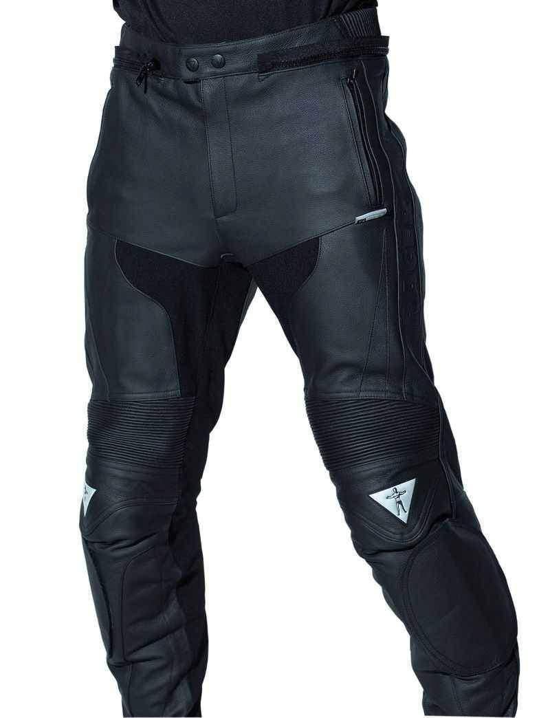 Racer Vodoo zkrácené kožené kalhoty na motorku