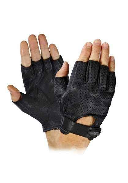 0dfe00457 SQ Road 66 kožené rukavice bez prstů | MOTOCHEB.CZ