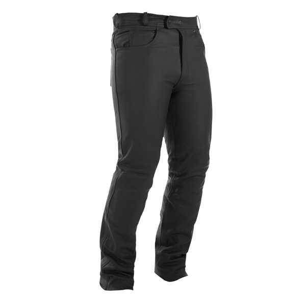 Wintex Break dámské jeans kožené kalhoty černé lesklé na motorku